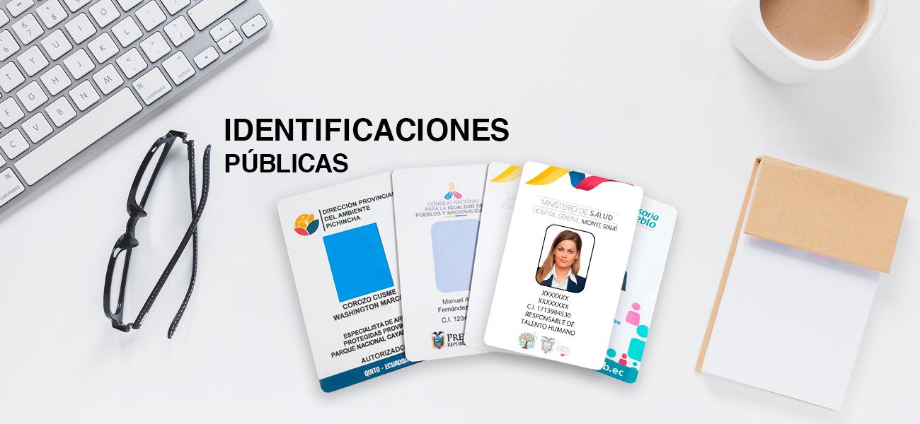IDENTIFICACIONES PUBLICAS